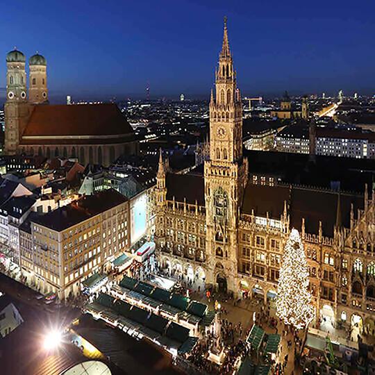 Vorschaubild zu Christkindlmarkt München