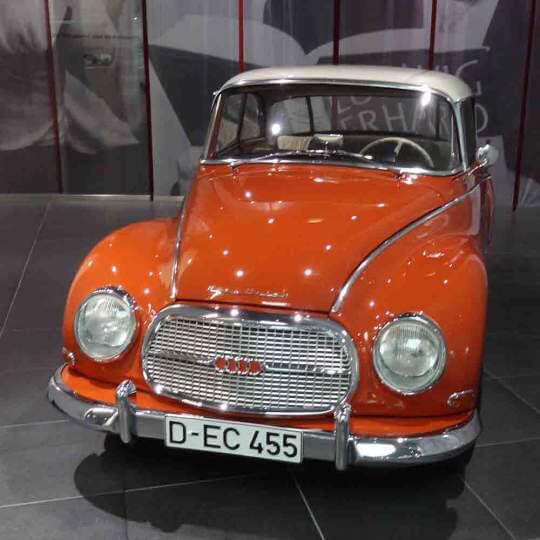 Audi Forum mit dem Audi museum mobile in Ingolstadt 10