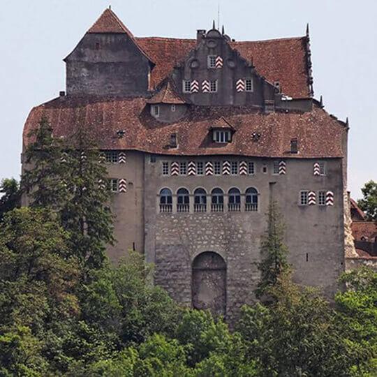 Vorschaubild zu Schloss Habsburg im Aargau