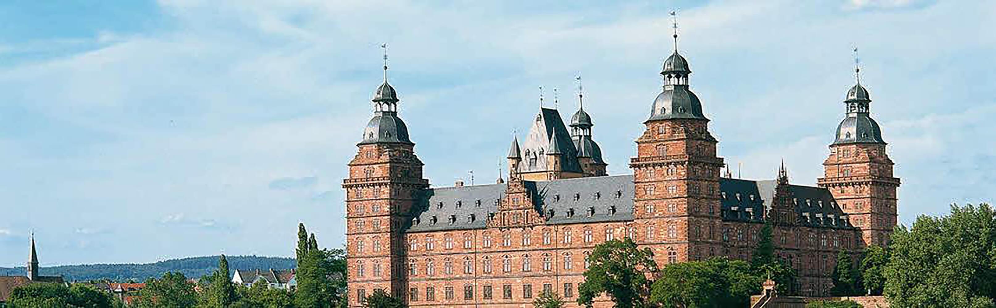 Renaissanceschloss Johannisburg in Aschaffenburg 1