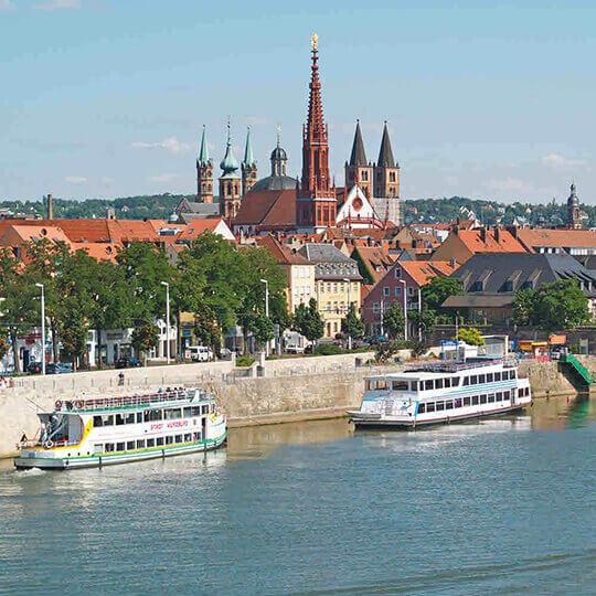 Vorschaubild zu Würzburg - die dynamische Stadt in Unterfranken