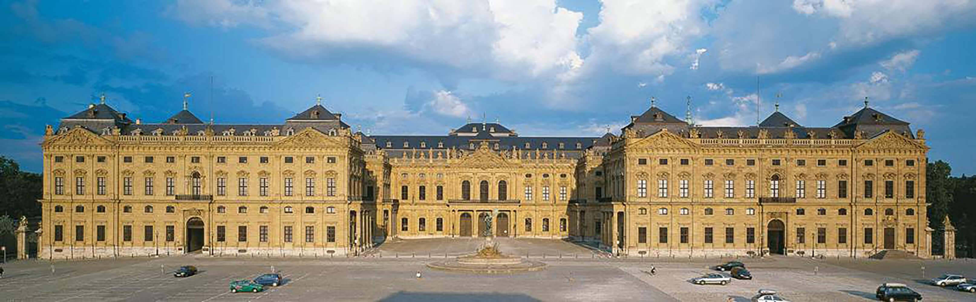 Die Würzburger Residenz  1