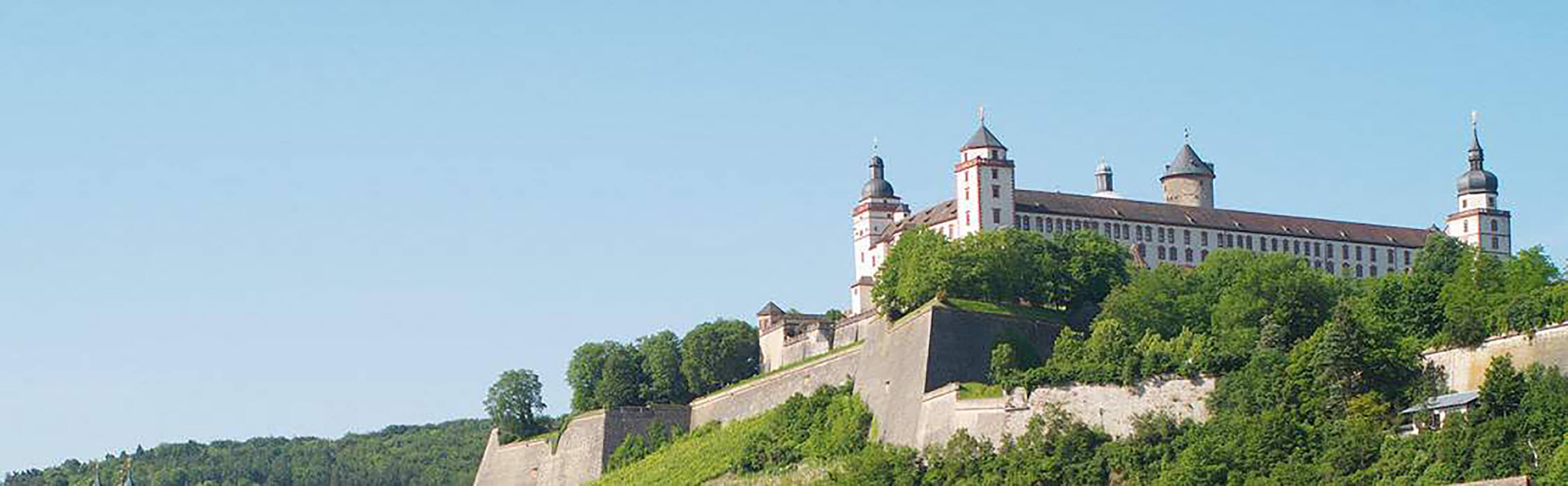 Festung Marienberg und das Museum für Franken - Würzburg 1