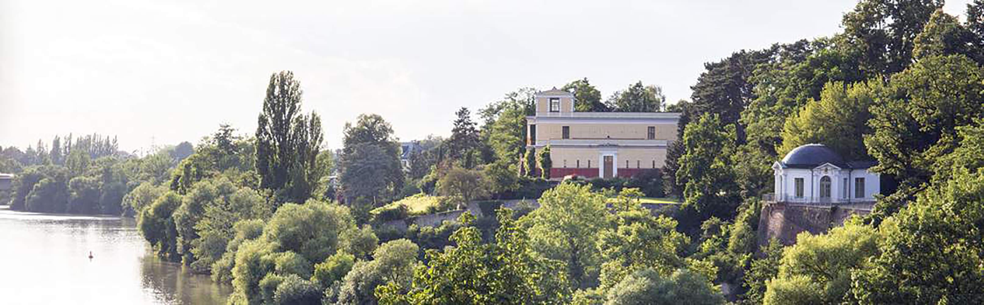 Pompejanum und Schlossgarten von Aschaffenburg 1