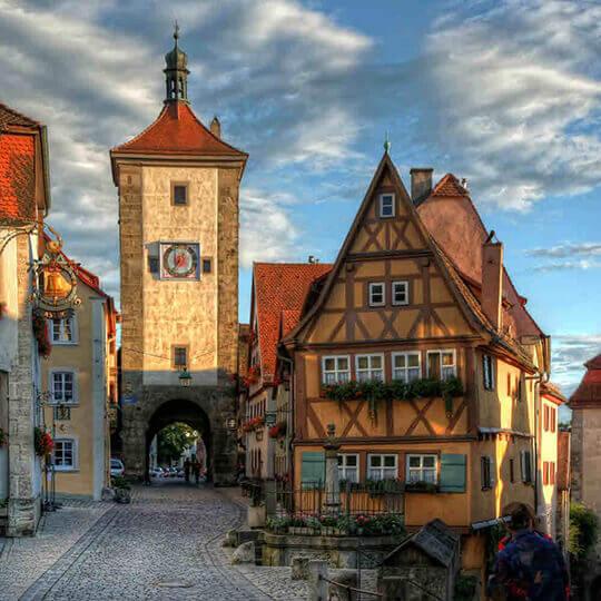 Vorschaubild zu Rothenburg ob der Tauber in Mittelfranken