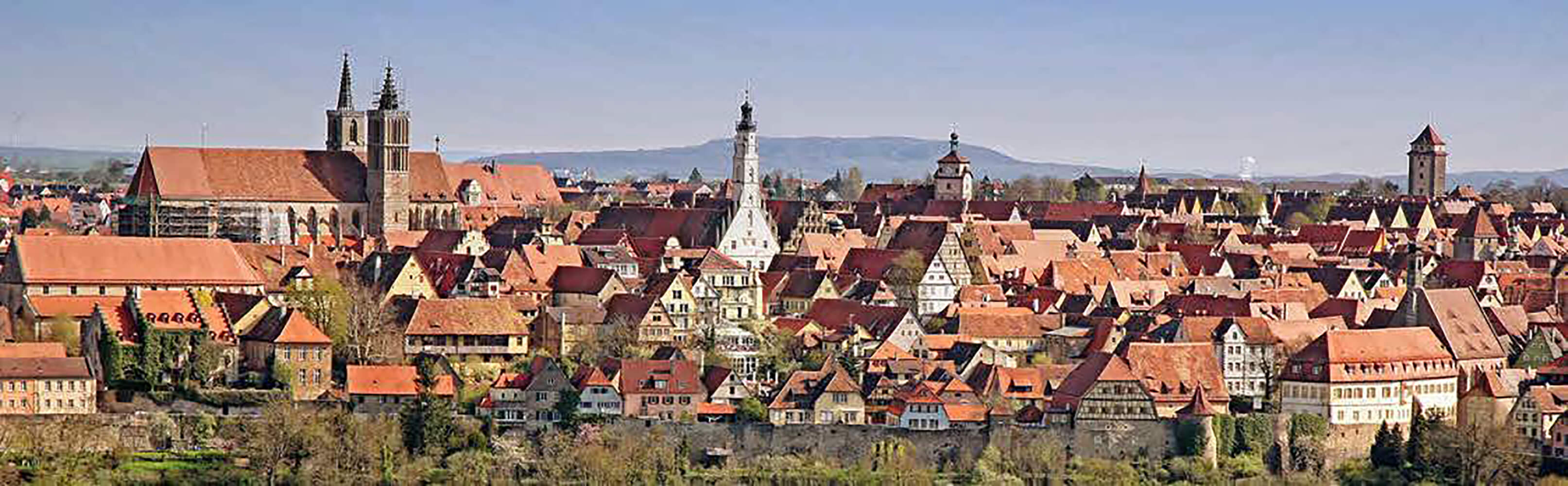 Rothenburg ob der Tauber in Mittelfranken 1