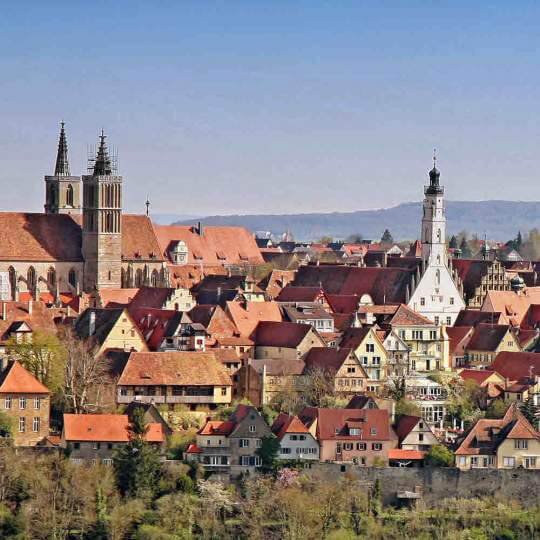 Rothenburg ob der Tauber in Mittelfranken 10
