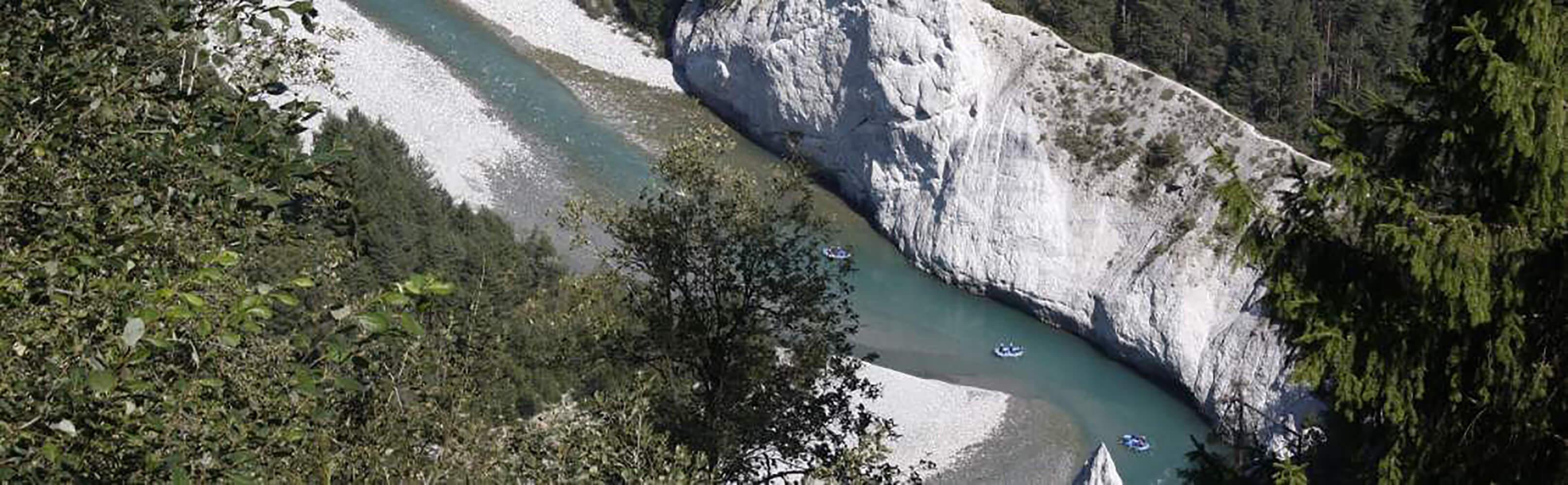 River Rafting auf dem Vorderrhein mit Swiss River Adventures 1