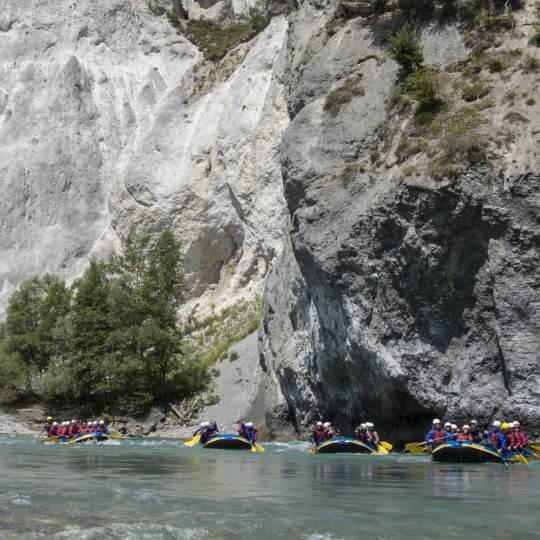 River Rafting auf dem Vorderrhein mit Swiss River Adventures 10