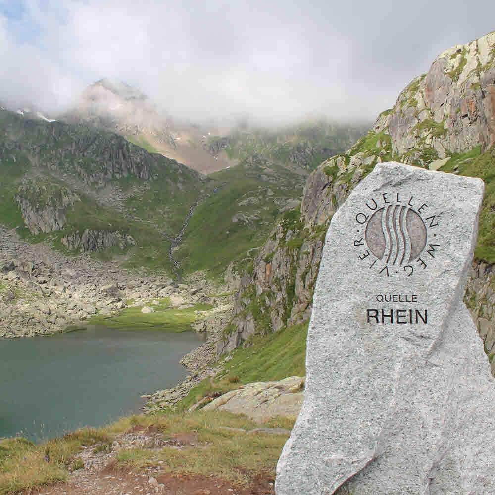 Tomasee - die Rheinquelle