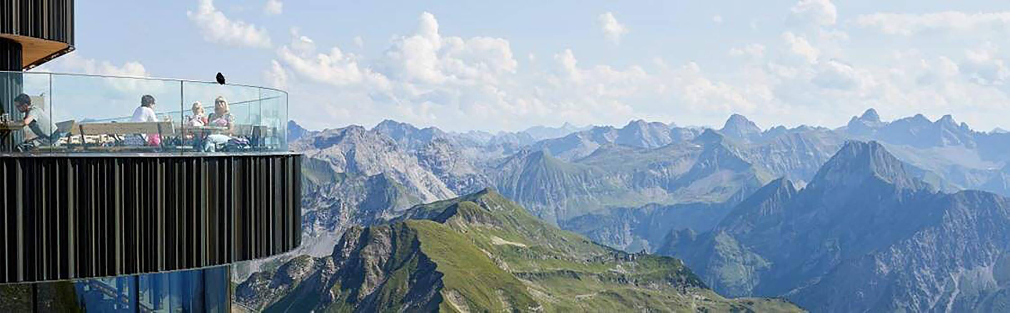 Die Nebelhornbahn Oberstdorf 1