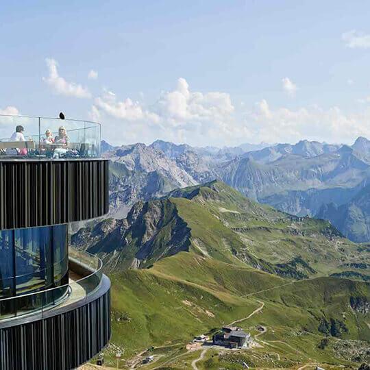 Vorschaubild zu Die Nebelhornbahn Oberstdorf