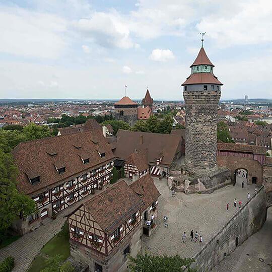 Vorschaubild zu Die Kaiserburg in Nürnberg