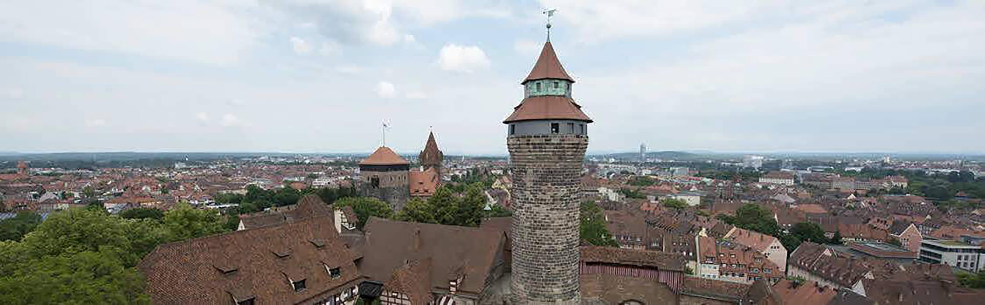 Die Kaiserburg in Nürnberg 1