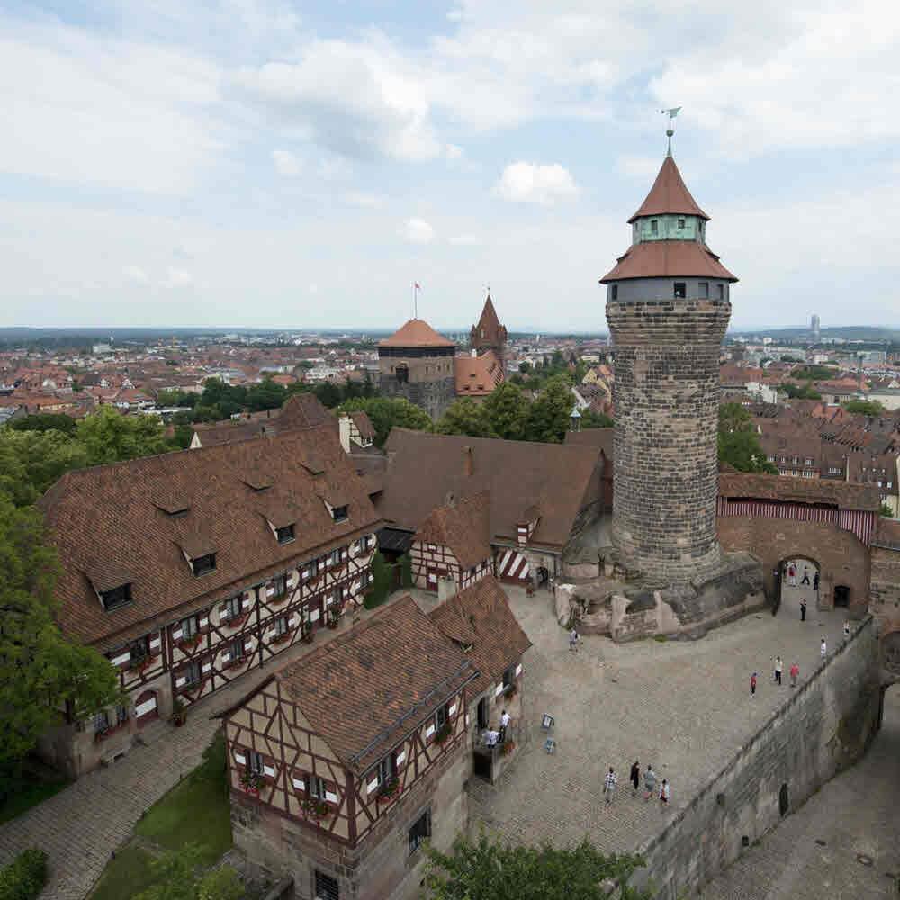 Die Kaiserburg in Nürnberg 10