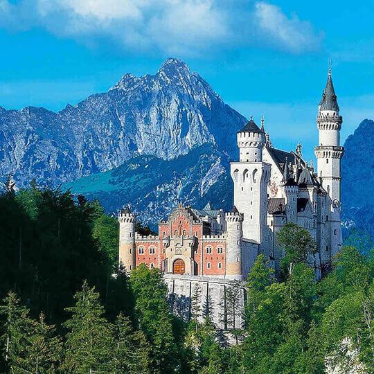 Schloss Neuschwanstein – das Märchenschloss in Schwangau