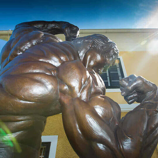 Das Arnold Schwarzenegger Museum bei Graz