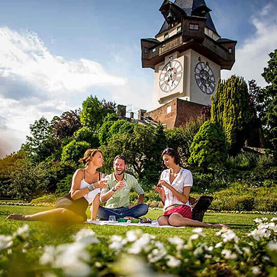 Vorschaubild zu Schlossbergbahn und Schlossberglift in Graz