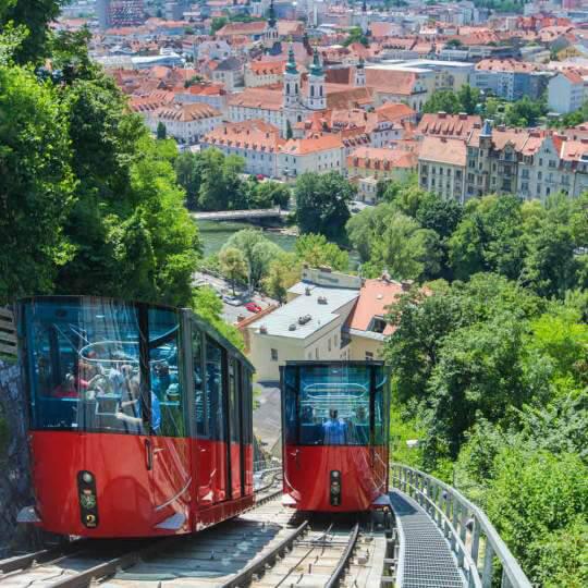 Schlossbergbahn und Schlossberglift in Graz 10