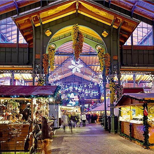 Vorschaubild zu Weihnachtsmarkt Montreux