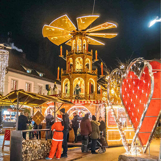 Vorschaubild zu Bregenzer Weihnachtsmarkt