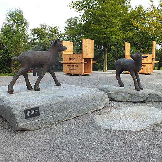 Vorschaubild zu Wildpark Peter und Paul St. Gallen