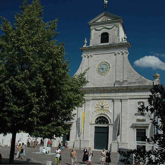 Vorschaubild zu Kloster Mariastein – Gnadenkapelle Mariastein