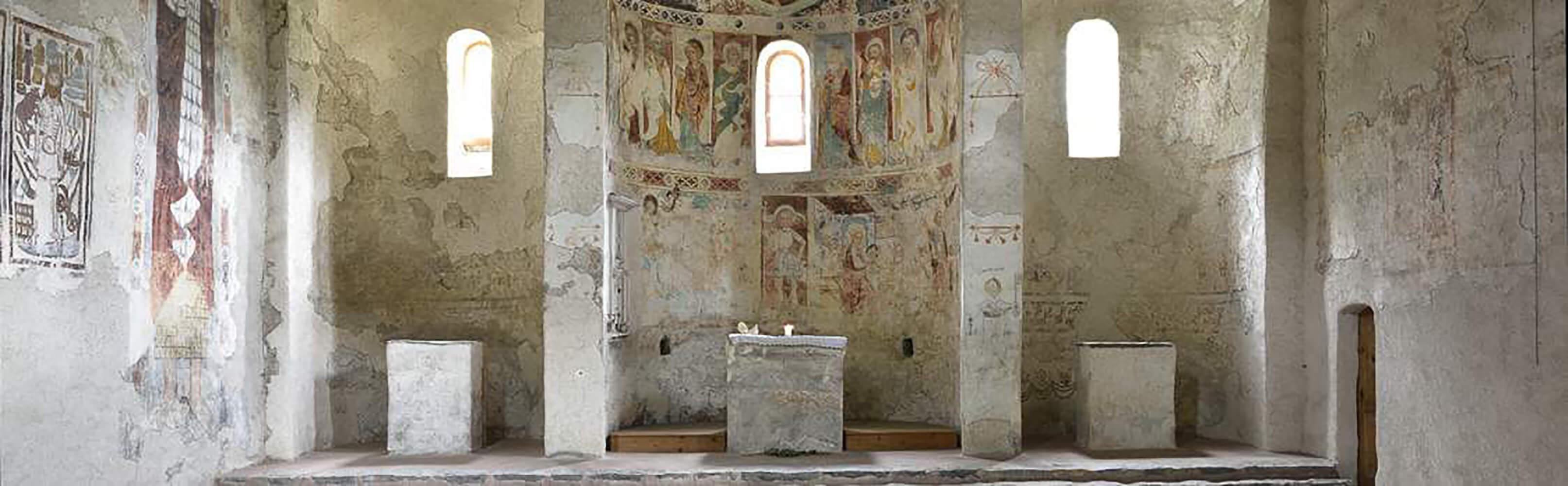 Kirche St. Peter Mistail - Parc Ela Savognin 1