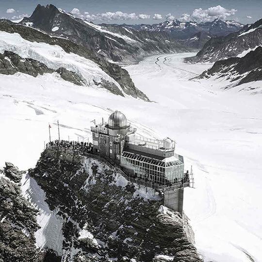Vorschaubild zu Sphinx Aussichtsterrasse, Jungfraujoch – Top of Europe