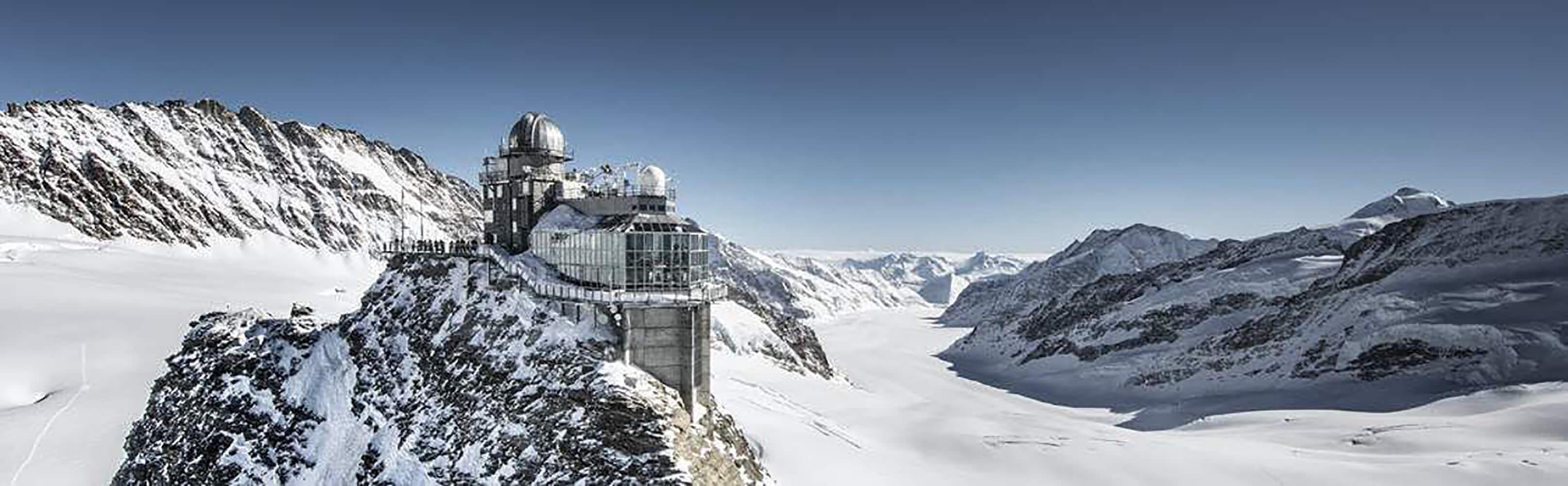 Sphinx Aussichtsterrasse, Jungfraujoch – Top of Europe 1