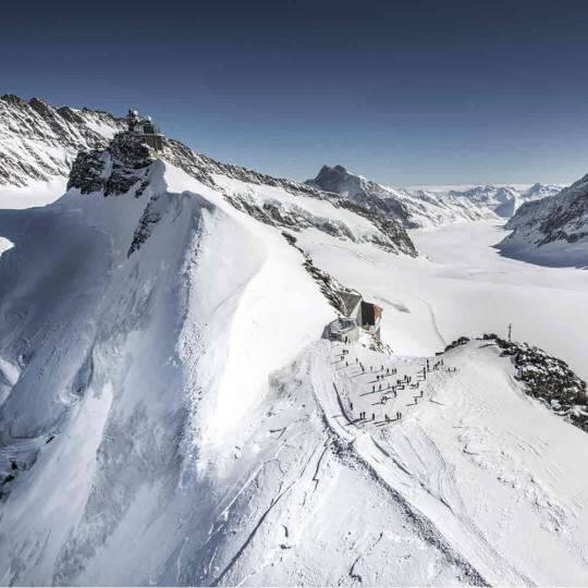 Sphinx Aussichtsterrasse, Jungfraujoch – Top of Europe 10