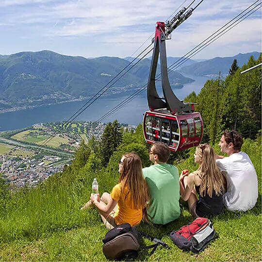 Vorschaubild zu Aussichtspunkte Cardada und Cimetta bei Locarno