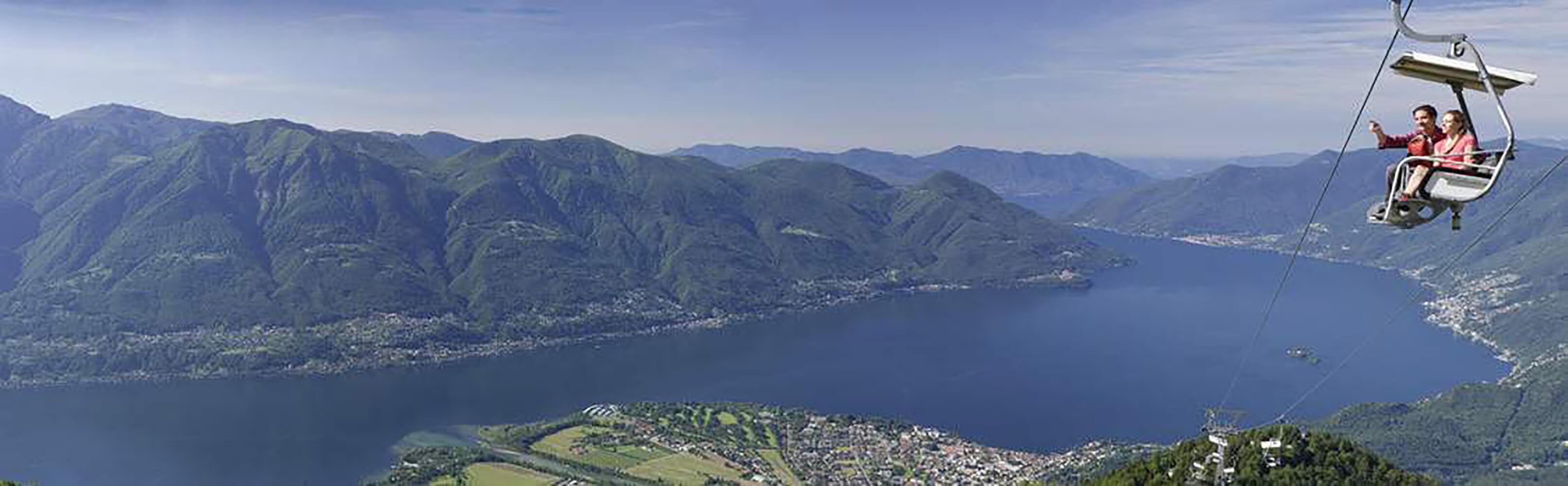 Aussichtspunkte Cardada und Cimetta bei Locarno 1