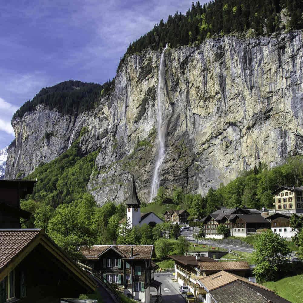 Staubachfall, Lauterbrunnen