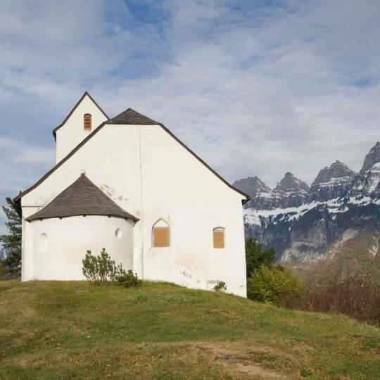 Kulturweg Sankt Georgenberg und Berschnerfall bei Berschis 10