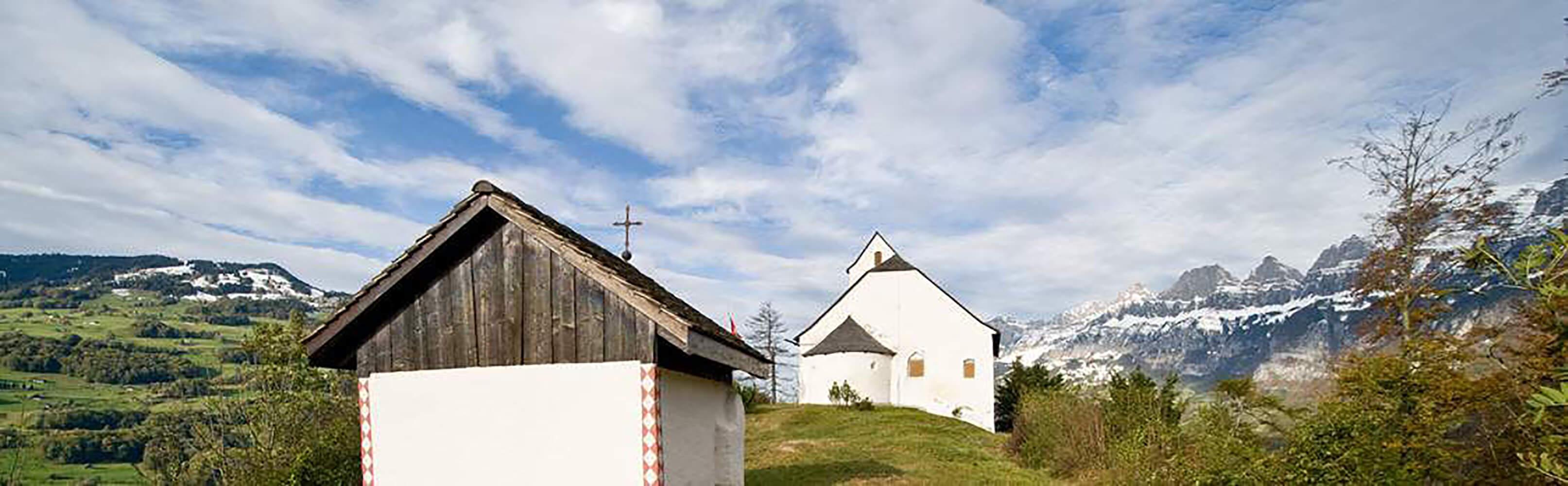 Kulturweg Sankt Georgenberg und Berschnerfall bei Berschis 1