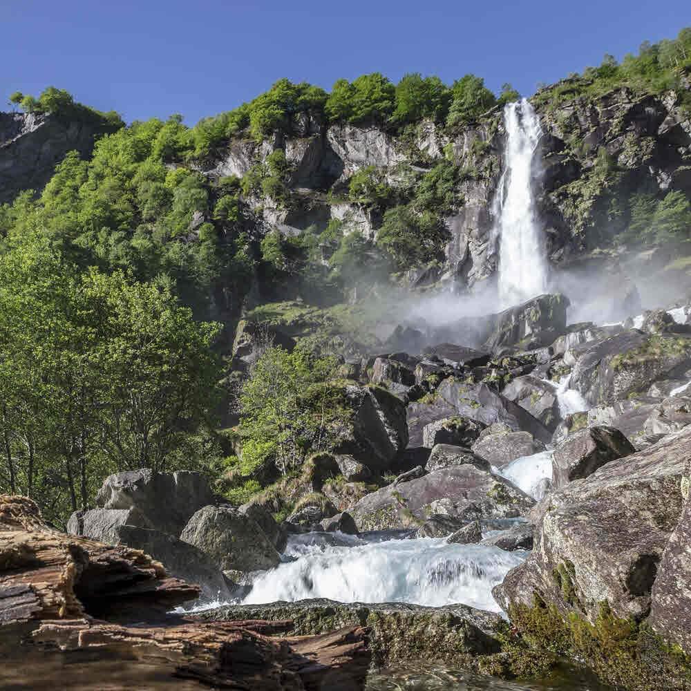 Wasserfall von Foroglio, Cevio 10