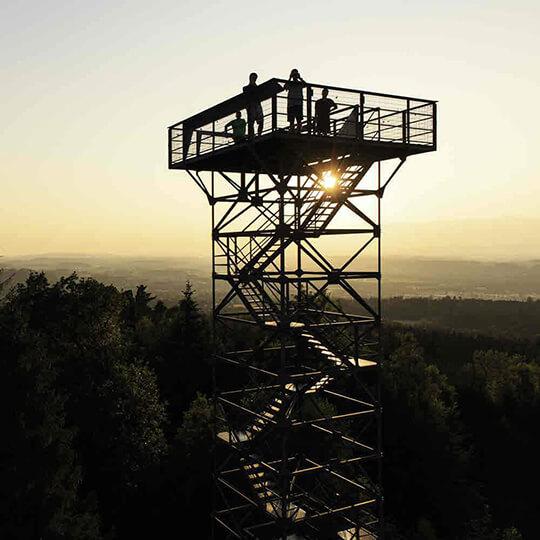 Vorschaubild zu Aussichtsturm Stählibuck - Frauenfeld