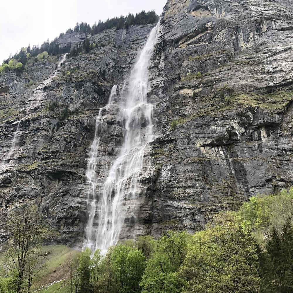 Mürrenbachfall, Lauterbrunnen