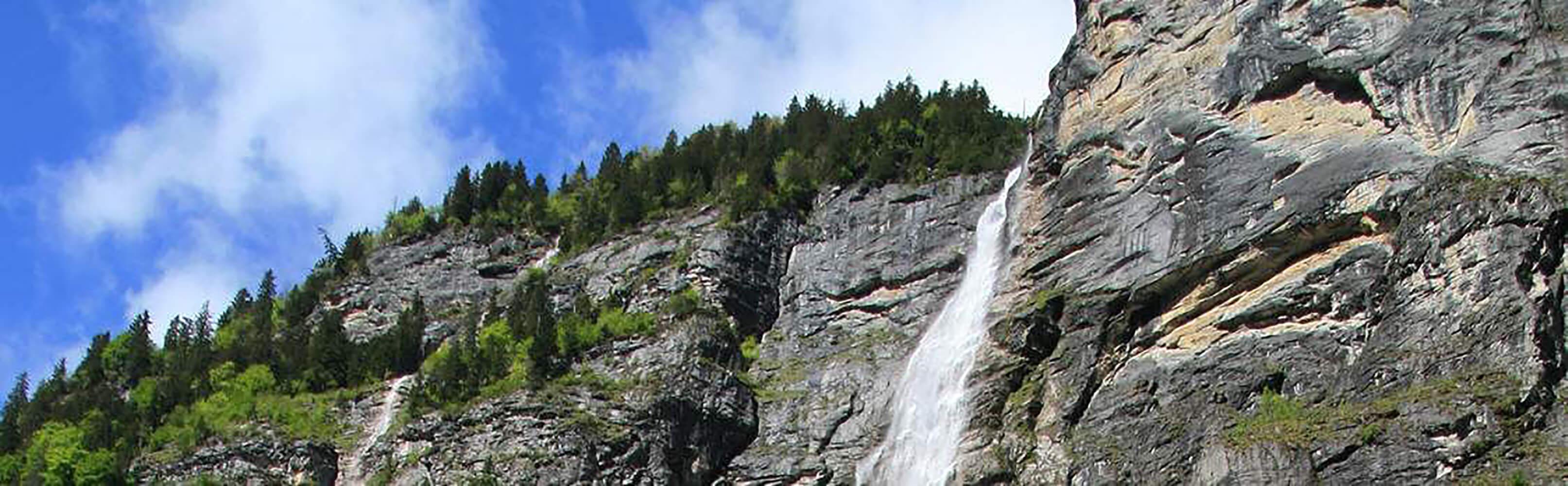 Mürrenbachfall, Lauterbrunnen 1