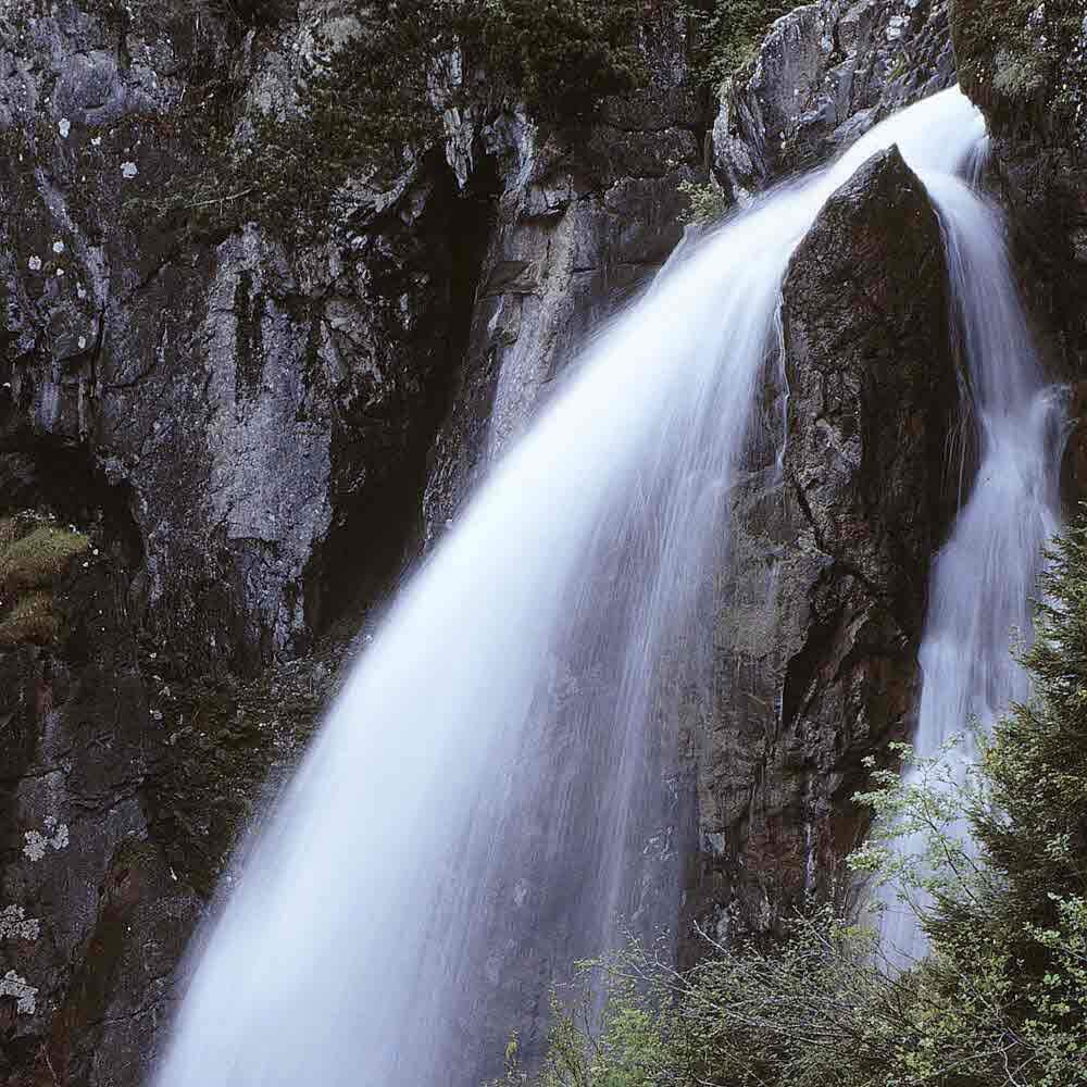 Reichenbachfall und Gletscherschlucht Rosenlaui, Meiringen