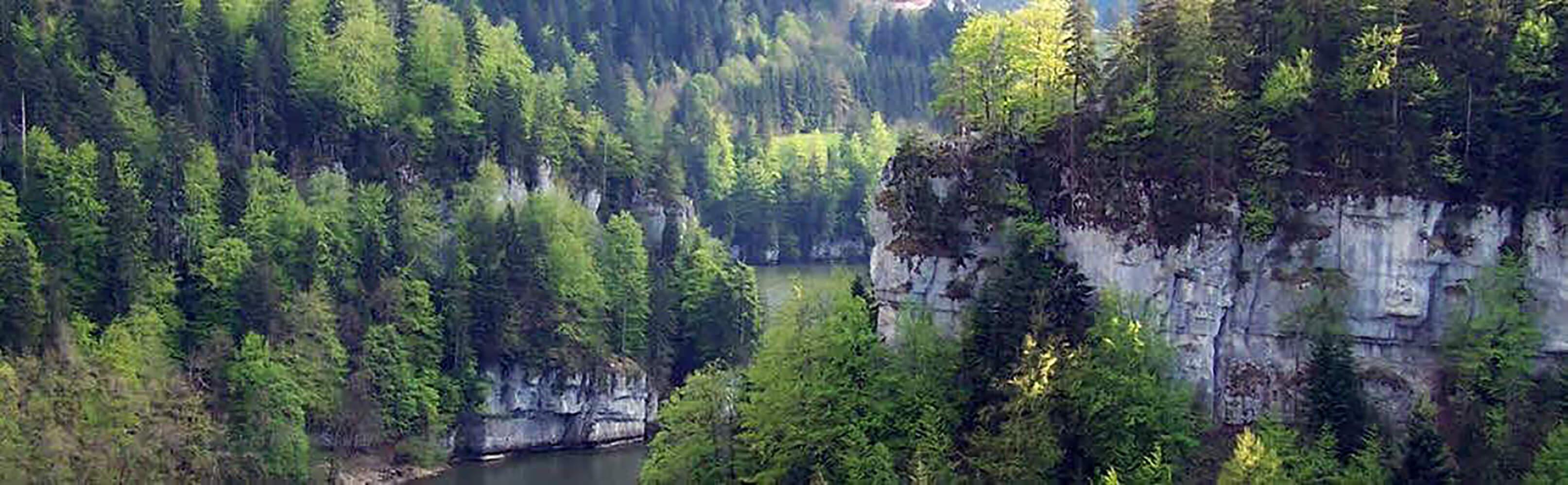 Saut du Doubs und Lac des Brenets 1