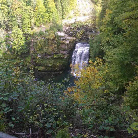 Saut du Doubs und Lac des Brenets 10