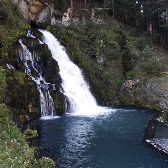 Vorschaubild zu Wasserfall Jaun in den Freiburger Alpen