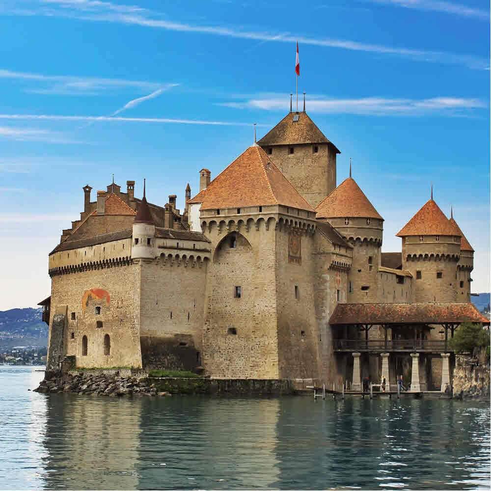 Schloss Chillon – Geschichte trifft auf Gegenwart