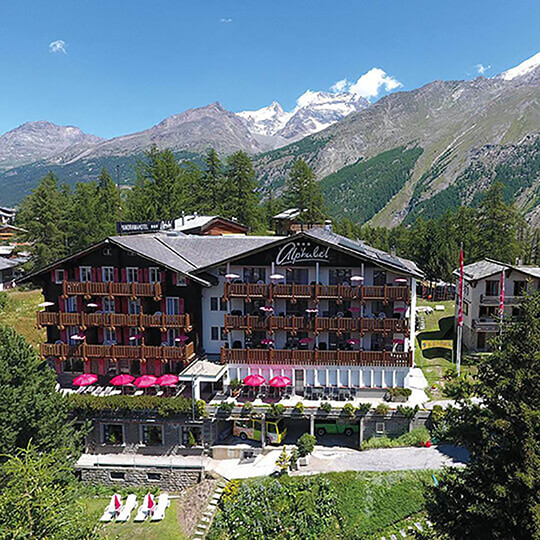 Vorschaubild zu Swiss Family Hotel Alphubel - Sommer in Saas-Fee