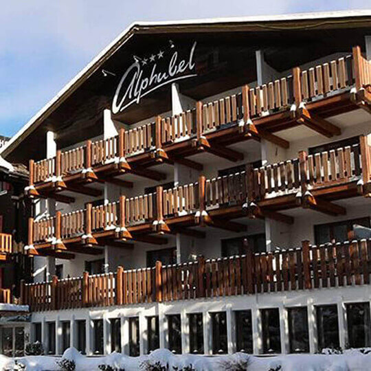 Swiss Family Hotel Alphubel - Winter in Saas-Fee