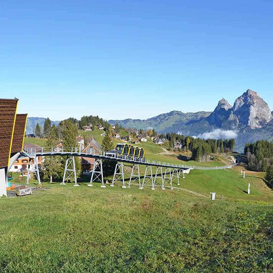 Vorschaubild zu Stoos – Aussichtsparadies mit Weltrekorderlebnis