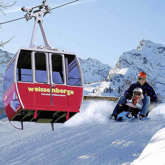 Vorschaubild zu Schlittelbahn Weissberge–Matt im Glarnerland
