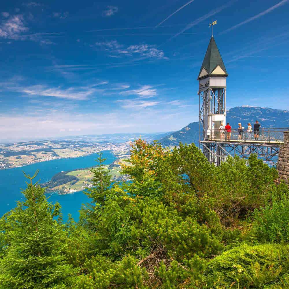 Aussichtspunkt Hammetschwand - Bürgenstock